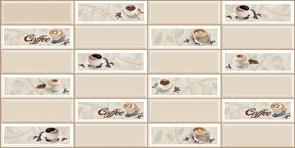 Панель-фартук ПВХ Мозаика Кофейный экспресс, 955x480x0.3мм