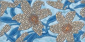 Панель-фартук ПВХ Мозаика Миллениум М-45 Анапа, 960x480x0.3мм, синий