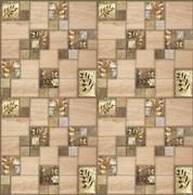 Панель-фартук ПВХ Мозаика Листопад, 595x595x0.3мм