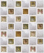 Панель-фартук ПВХ Мозаика Калейдоскоп, 495x495x0.3мм