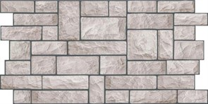 Панель-фартук ПВХ Мозаика Стоун, 960x480x0.35мм, серый