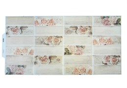 Панель-фартук ПВХ Мозаика Эдельвейс, 955x480x0.3мм