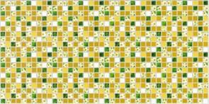 Панель-фартук ПВХ Мозаика Ромашка 163мр, 488х955мм, толщина 0.3мм