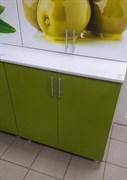 Стол кухонный рабочий 800x600x810мм, 2 двери, без ящика, МДФ, Олива 01