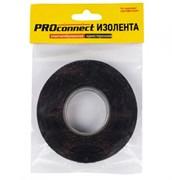 Изолента Proconnect 20ммx11.1м, 110г, односторонняя, х/б, черная