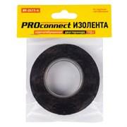 Изолента Proconnect  20ммx16.4м, 110г, двусторонняя, х/б, черная