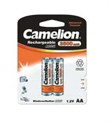 Аккумулятор Camelion 6107, R6 NI-MN (2500mAh) ВР-2, пальчиковая, блистер 2шт.