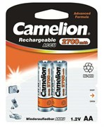 Аккумулятор Camelion 7371, R6 NI-MN (2700mAh) ВР-2, пальчиковая, поштучно
