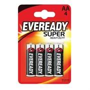 Батарейка Energizer Eveready HD R-06 АА, солевая, пальчиковая, упаковка 4шт.