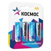 Батарейка Космос KOCLR064BL_classic, LR6, ВР-4, алкалиновая/щелочная, пальчиковая, упаковка 4шт.