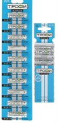 Батарейка ТРОФИ BASIC LR6/316 BL10, алкалиновая/щелочная, пальчиковая