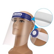 Экран-щиток защитный Face Shield для лица, пластик