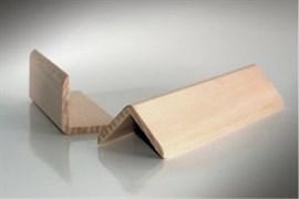 Уголок внешний стычной Липа, 30x30мм, АС (1сорт)