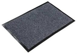 Коврик напольный Floor mat (Траффик), 60х90см, влаговпитывающий, серый