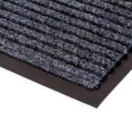 Коврик напольный Floor mat (Полоска), 60х90см, влаговпитывающий, серый