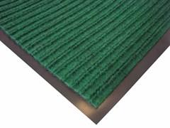 Коврик напольный Floor mat (Полоска), 60х90см, влаговпитывающий, зеленый