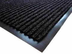 Коврик напольный Floor mat (Полоска), 60х90см, влаговпитывающий, черный