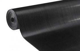 Дорожка Рифленка, высота 1.2м, резина, черный