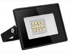 Прожектор светодиодный Smartbuy SBL-FLLight-10-65K, 98x66x20мм, 10W, 550lm, FL SMD LIGHT, 6500K, 6К, 180-240V, IP65, холодный свет