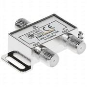Делитель/сплиттер антенный Proconnect 05-6021, ТВх2 под F разъём, 5-1000МГц