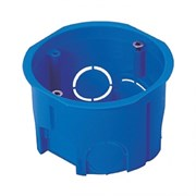 Коробка установочная (подрозетник) EKF PROxima plc-kmt-010-033 КМТ-010-033 для твердых стен, 68х45мм, IP20, с саморезами, скрытой проводки СП, полипропилен