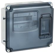 Корпус для электросчетчика IEK/ИЭК  ЩУРн-П MSP1-N-03-55, 1/3, IP66 PC, навесной, пластиковый