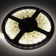 Лента светодиодная Ecola LED strip PRO SMD5050, 19W/m, 12V, IP65, 10мм, 60Led/m, 6000K, 720Lm/LED, 1200Lm/m, холодный белый, герметичная, на катушке 5м