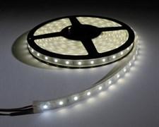 Лента светодиодная Ecola LED strip PRO SMD3528, 8W/m, 12V, IP65, 10мм, 60Led/m, 6000K, 720Lm/LED, 1200Lm/m, холодный белый, герметичная, на катушке 5м