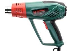 Фен строительный технический Hammer Flex HG2020A, 2200Вт, 50/350-100/600С, 300/500л/мин, насадки, тепловая защита