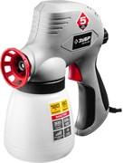 Краскораспылитель/краскопульт ЗУБР ЗКПЭ-120, 300мл/мин, вязкость краски 60DIN, 0.8л, 120Вт, электрический
