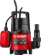 Насос ЗУБР НПГ-М1-400, погружной, дренажный, 400Вт, для грязной воды