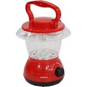 Фонарь для кемпинга Smartbuy SBF-30-R, встроенный аккумулятор 4В, 1.8Ah, 15 светодиодов, зарядное устройство 220В, красный
