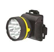 Фонарь налобный Ultraflast 11781 LED 909, 3 элемента питания R6, 5 светодиодов, 18Лм, черный