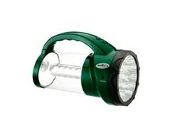 Фонарь комбинированный КОСМОС KOCAP Accu AP2008L-LED, аккумуляторный 4В 2Ah, 43 светодиода, 350Лм, 2 режима, с крючком, зелёный