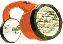 Фонарь для кемпинга Облик 6008 439701, аккумуляторный 4В 1.2Ah, 43 светодиода, 250Лм, 2 режима, оранжевый