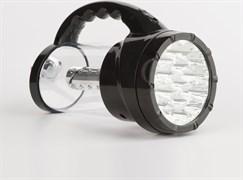 Фонарь для кемпинга Облик 6008 439702, аккумуляторный 4В 1.2Ah, 43 светодиода, 250Лм, 2 режима, черный
