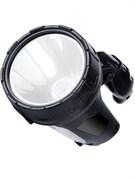 Фонарь-прожектор Облик 8227, аккумуляторный 4В 2Ah, 1 светодиод 10Вт, 15 светодиодов в боковой панели, 600Лм, вращающаяся ручка, 3 режима, встроенное зарядное устройство, серый