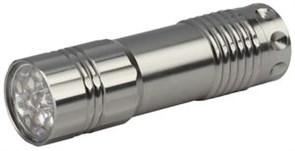 Фонарь ручной Трофи ТМ9 Б0016864, 3 элемента питания R03, 9 светодиодов, 60Лм, серебристый