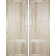 Дверь филенчатая щитовая ДФЩ 100x210см с коробкой, полотно 90x200см