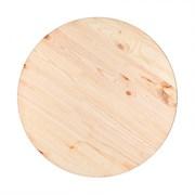 Столешница хвойных пород диаметр 700мм, 28мм, категория АВ, круглая