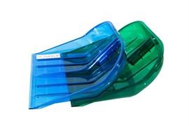 Ковш для лопаты снегоуборочной ОНЕСТ ЛПК-02, 430x400мм, под черенок 32мм, поликарбонат особопрочный, разноцветный