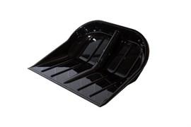 Ковш для лопаты снегоуборочной ОНЕСТ ЛПК-02/Э, 430x400мм, под черенок 32мм, поликарбонат особопрочный, черный