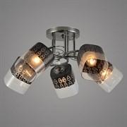 Люстра подвесная 5-рожковая 05965/5, 5x40W, E27, диаметр 470мм, высота 240мм, BK черный, GAN20