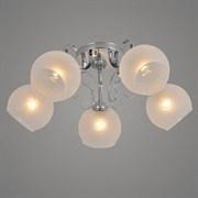 Люстра подвесная 5-рожковая 06047/5, 5x40W, E27, диаметр 540мм, высота 210мм, CR хром, GAN20