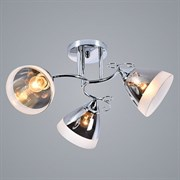 Люстра подвесная 3-рожковая XA1217/3, 3х60W, Е27, диаметр 530мм, высота 260мм, HN20, CR хром