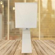 Настольная лампа 2202W+864, высота 320мм, 1х40W, E27, белый/белый абажур