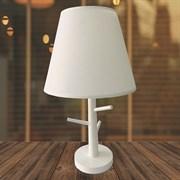 Настольная лампа 6192W+651, высота 440мм, 1х40W, E27, DUO20, белый/белый абажур