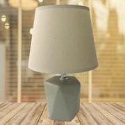 Настольная лампа DS-TL8801, высота 290мм, 1х60W, E27, DUO20, белый/белый абажур