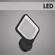 Светильник настенный/бра LED встроенный MX10005/1, длина 220мм, 24W, 3000-6500K, HN19, BK черный
