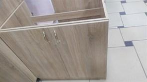 Тумба-мойка кухонная, 800x510x820мм,под мойку, ЛДСП, дуб сонома